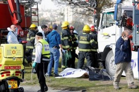 El conductor del camión fue neutralizado (Reuters)