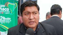 José Quecaña, ejecutivo regional del Gran Chaco (Crédito imagen: red Unitel)